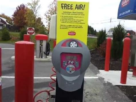 fully automated tire air free at getgo gas stations