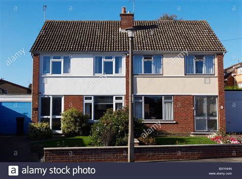 house to buy in london uk 1950 60s semi detached houses london suburb uk stock photo royalty free image