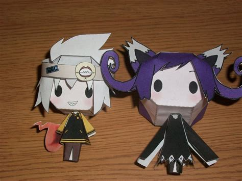 Soul Eater Papercraft - blair and soul papercraft doll by vee vii on deviantart
