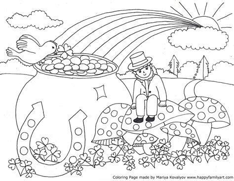 coloring pages for adults st patrick s day stpatriksmedium