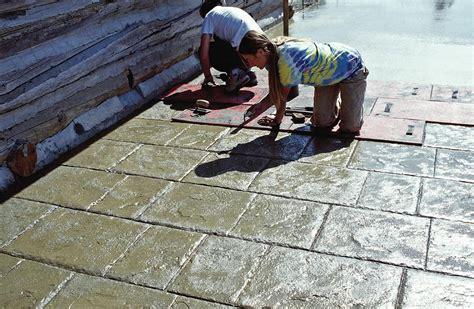 decorative concrete comes of age concrete construction