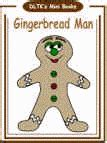 printable gingerbread man book dltk s make your own books gingerbread man