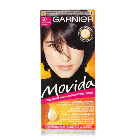 novida hair dye product data garnier movida 50 black hair color hair