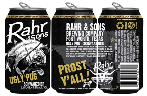 rahr pug rahr sons brewing co to release pug in cans craftbeer
