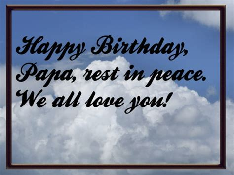 Happy Birthday Quotes For Papa Quot Happy Birthday Papa Quot Missin You Papa Pinterest