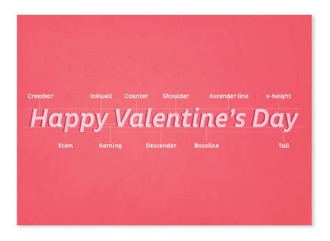 geeky valentines for typography geeks adorable s day cards
