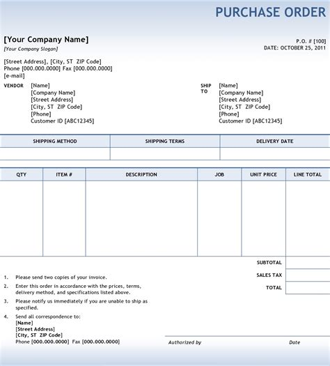 purchase orders  invoices invoice template ideas