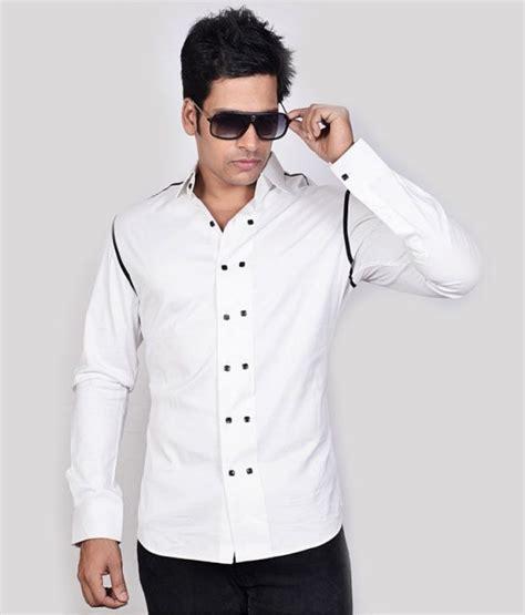 dazzio white stylish shirt buy dazzio white stylish