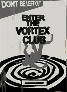 Wall Stickers Custom quot enter the vortex club quot posters by scolecite redbubble