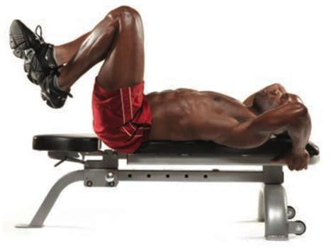 reverse crunch on bench reverse crunch bodybuilding wizard