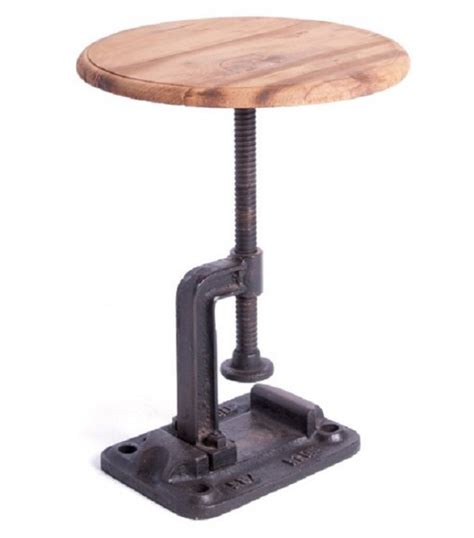 iron accent table iron cl stool accent table