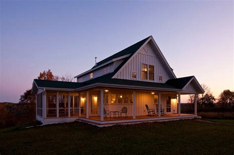 building homes unique farmhouse for mid size family w porch hq plans