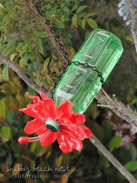 hummingbird feeder diy eco art pinterest