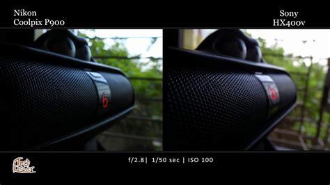 Nikon P900 35mm Equivalent by Sony Hx400v Vs Nikon P900 Photo Comparison