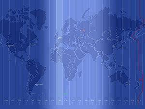 earth time wallpaper メルボルンにてリスタート thinkpadの世界時計壁紙があった