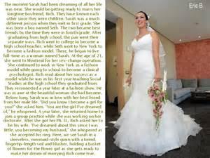 Wedding Captions Eric S Transgender Captions Sarah Preparing For Her Wedding