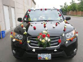 wedding car decoration in brton mississauga and