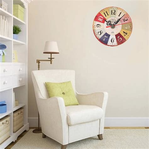 Stylish Living Room Clocks Bz299 Wall Mounted Clock Simple Modern Living Room And