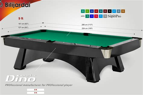 Professional Pool Table Luxury Pool Tables Professional Pool Table Size