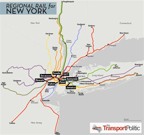 Jersey City Light Rail Map Regional Rail For New York City Part Ii 171 The Transport