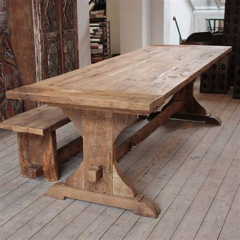 rustic oak kitchen table best 25 rustic dining tables ideas on rustic