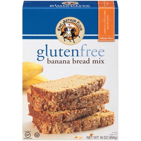 king arthur flour gluten free banana bread mix from whole