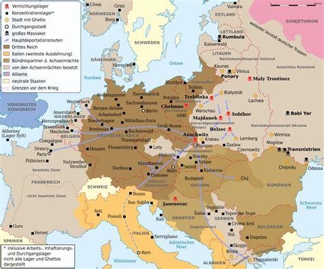 deutsche mappe holocaust dimensionen und begriffe segu geschichte