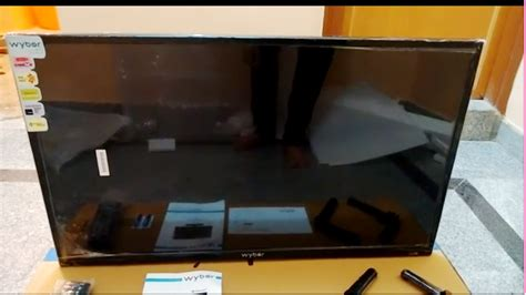 80 Inch Tv Unboxing by Learn New Things Cheapest 32 Inch Led Hd Tv Wybor W32n06