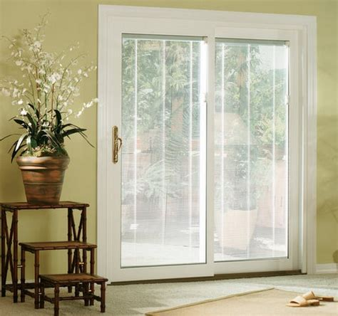 Patio Doors With Blinds Inside Glass Sliding Glass Doors With Blinds Inside Them Sliding Patio Doors With Blinds Between Glass My