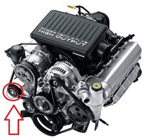 Dodge Ram 2002 2008 How To Replace Serpentine Belt