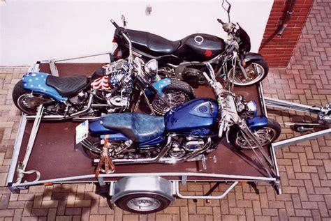Motorradtransporter Für 4 Motorräder by Autotransporter Motorradtransporter F 252 R Bis Zu 4 Motorr 228 Der