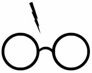 Harry Potter Lightning Scar Emoji Harry Potter Glasses With Lightning Bolt Scar Yeti Cup Car