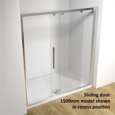 Shower Door And Frame Kudos Original 3sd170s 1700mm Sliding Shower Door Silver Frame