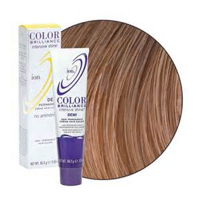 ion hair color ion color brilliance intensive shine demi permanent creme