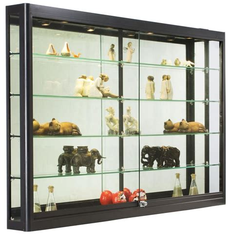Wall Units Interesting Built In Wall Display Case Wall