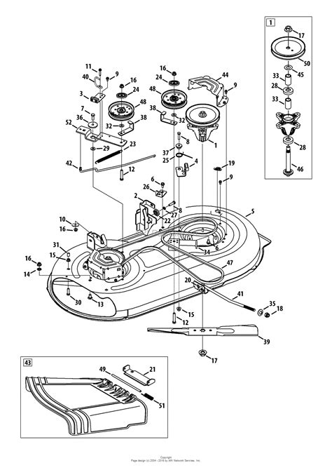 troy bilt lawn mower belt diagram troy bilt 13an77ks066 pony 2013 parts diagram for mower