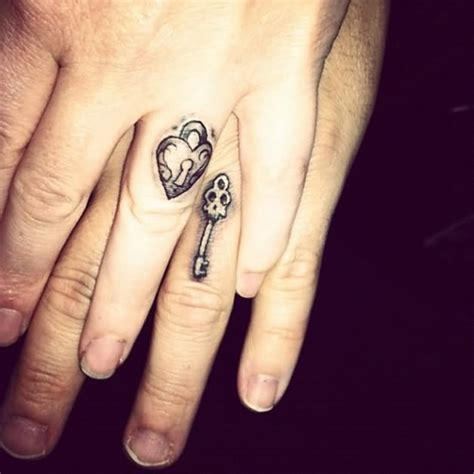 key tattoo on finger 25 classic ring tattoo images designs and picture ideas