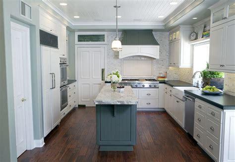 sea salt sherwin williams   traditional kitchen