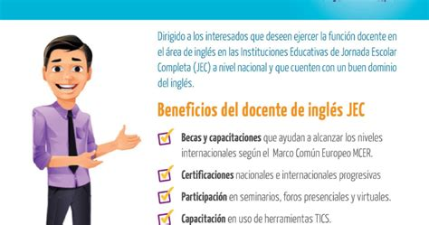 plataforma de jec 2016 concurso de contrataci 211 n docente de ingl 201 s 2017 jec