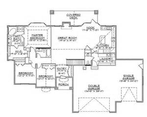 4 Bedroom House Plans With Basement by Best 20 Rambler House Plans Ideas On Ranch