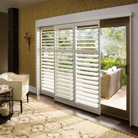 Faux Wood Blinds For Sliding Glass Doors Cheap Window Covering Faux Wood Plantation Blinds Plantation Blinds For Sliding Glass Doors