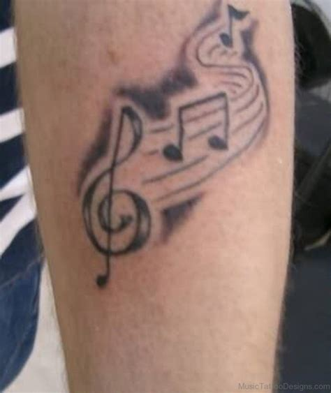music note tattoos designs 50 great tattoos on arm