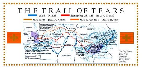 the new trail of tears how washington is destroying american indians books trail of tears national historic trail tribes of the