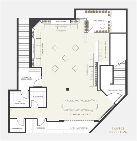 floor plan wedding reception planning the cellar by araxi the cellar by araxi