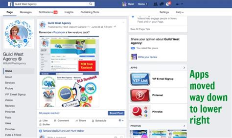 facebook themes style gallery app new facebook page layout is it a flashback but better