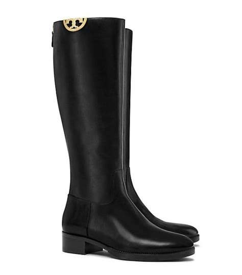 Sale Semi Boots Black N30 burch 30 sale save on shoes handbags at the