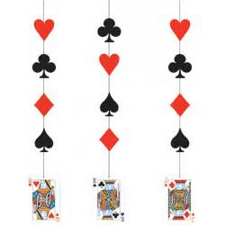 casino hanging card decorations from all you need to uk