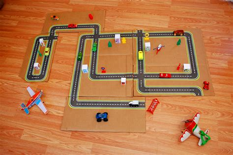 printable roads for toy cars printable road maps for toy cars fun family crafts