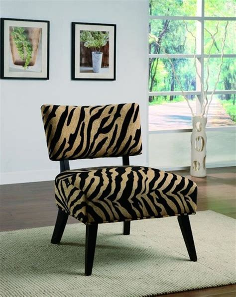 tiger chair tiger pattern accent chair the home
