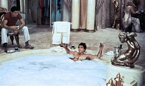 tony montana bathtub scarface images scarface wallpaper and background photos